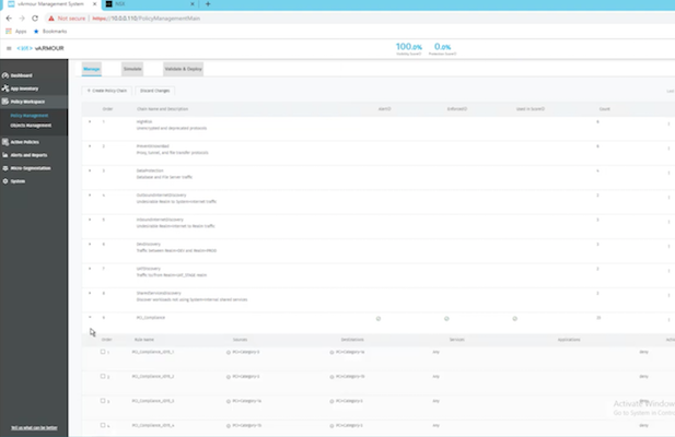 Continuous Compliance for VMware NSX - Policy Creation & Deployment